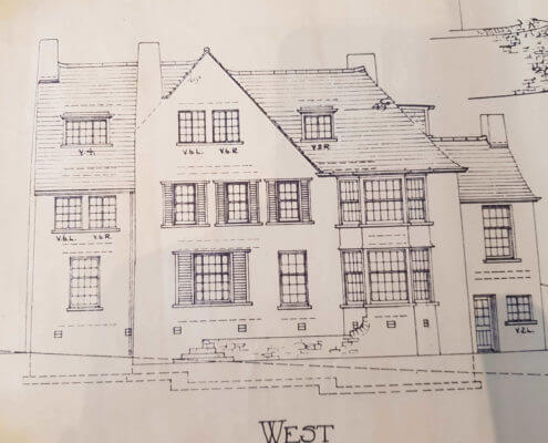 SandbachSurveyors. Building Plan of an old traditional house