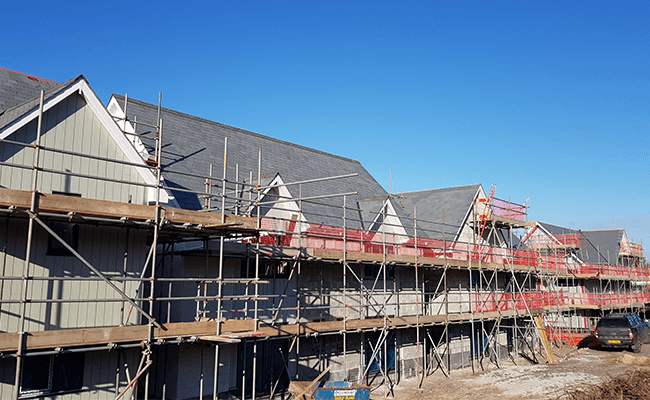 New build properties ready for Snagging Surveys